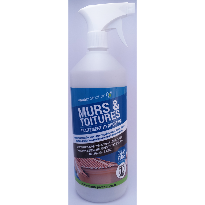 Traitement toit murs anti mousse nanoprotection for Produit anti mousse