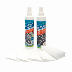 Kit anti tache pour tous types de jantes (alu, chrome)