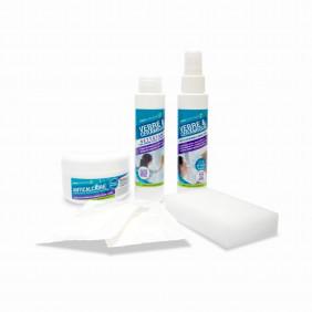Kit de protection anti calcaire/anti saletés pour WC et salle de bain