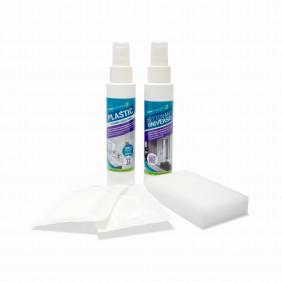 Kit spécial surface plastique anti tache