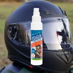 Traitement anti-pluie pour visières et bulles de moto
