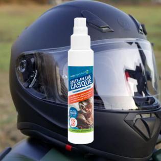 Traitement anti pluie spécial visières et bulles moto