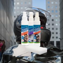 Kit anti pluie/anti buée spécial casque
