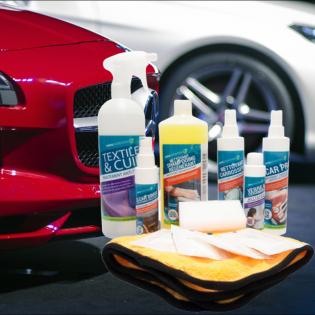 """Kit """"standard"""" protection et entretien extérieur/intérieur voiture"""