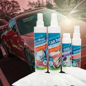 Kit de protection vitres/jantes/carrosserie/optiques