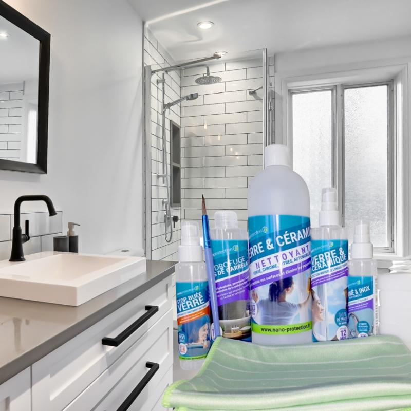 Kit de protection salle de bain 100% écologique