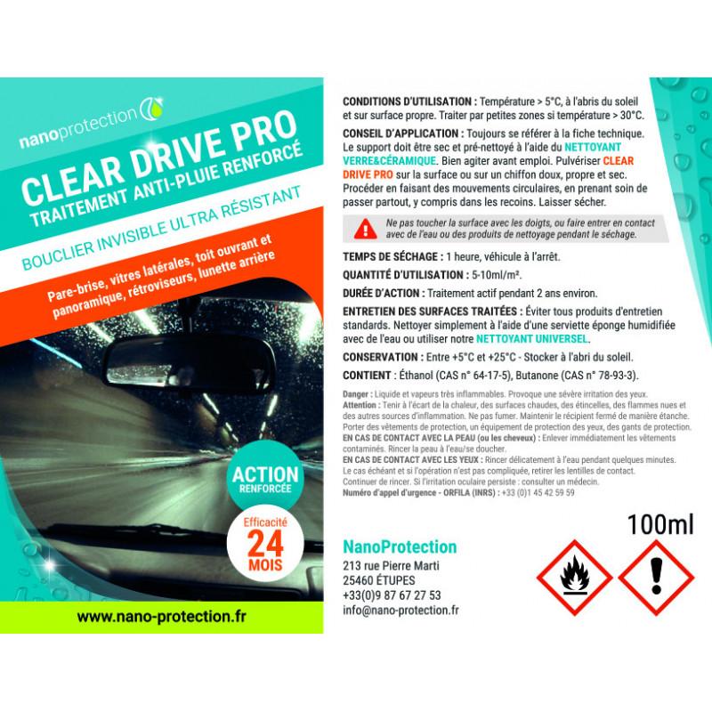 Anti-pluie 24 mois Clear Drive Pro
