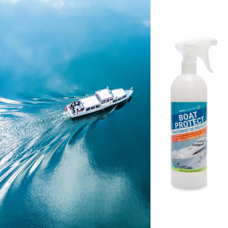 Traitement de décontamination pour coques de bateaux