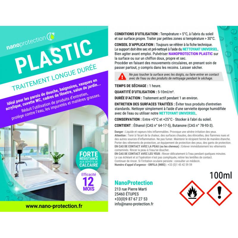 Traitement protection plastiques