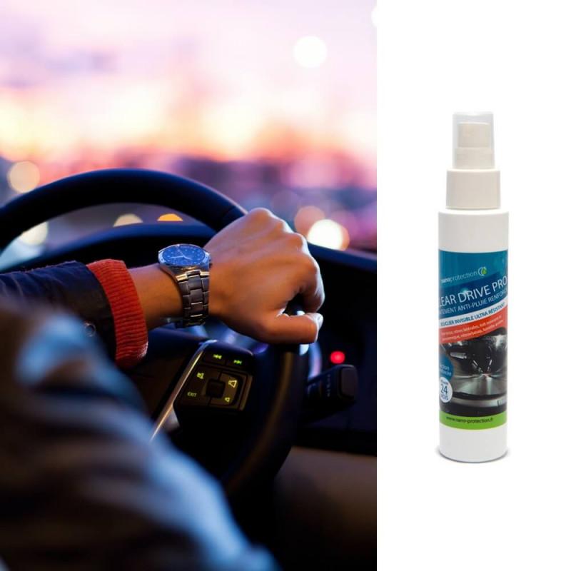 CLEAR DRIVE PRO - Traitement anti pluie pare-brise renforcé