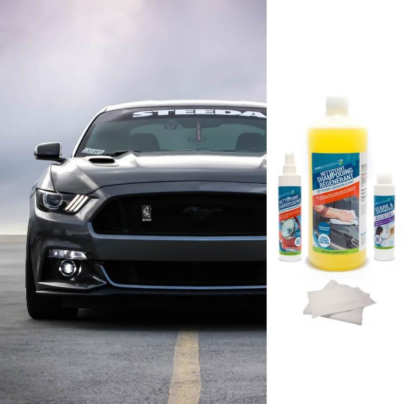 Kit Haut de Gamme protection et entretien extérieur et intérieur voiture