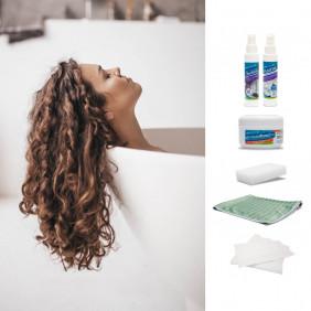 Kit anti-traces et protection des parois de douche et baignoires en plastique