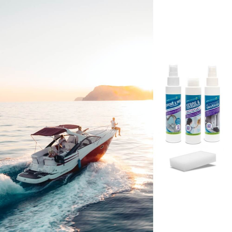 Kit protection chrome & inox  Bateaux - Yachts